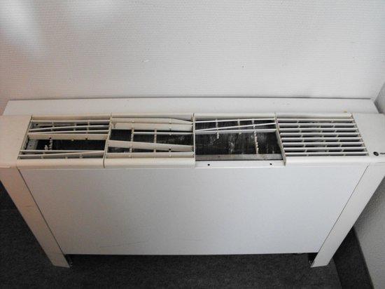 B&B Hotel Strasbourg Sud Geispolsheim : un radiateur?