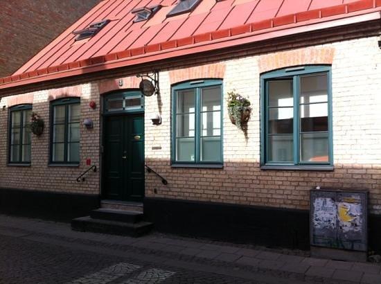 Hotell Oskar: la façade de l'hôtel