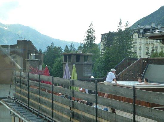 Park Hotel Suisse & Spa: Jacuzzi