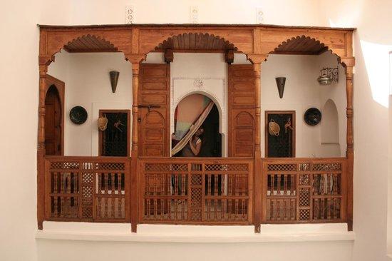 Riad Slawi : la mia camera vista da fuori