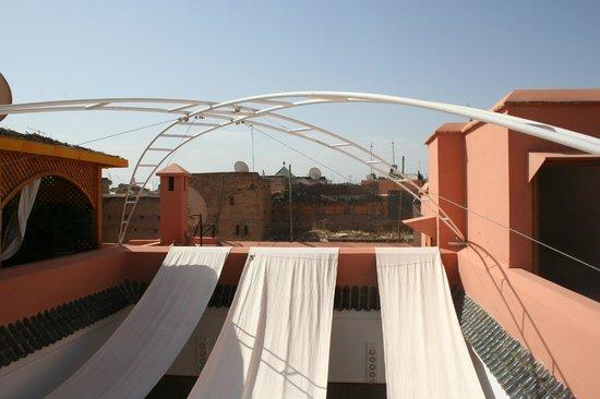 Riad Slawi : Terrazza sul tetto
