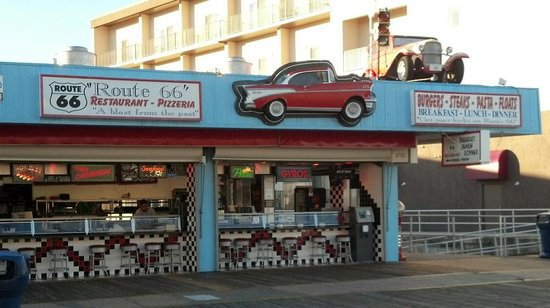 Route 66 : Front counter