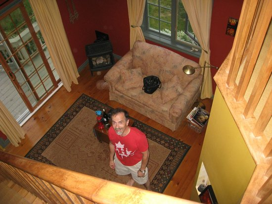 Applewood Hollow Bed and Breakfast: View from the Bedroom/Loft