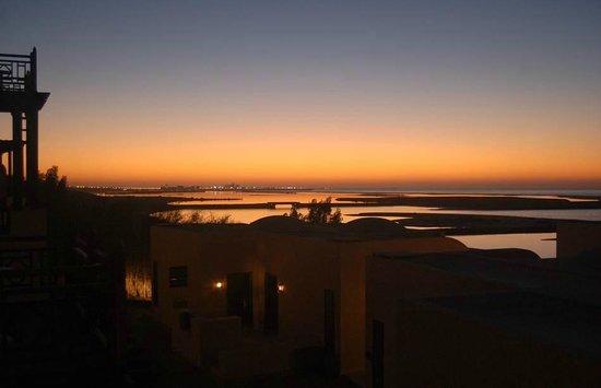 Cove Rotana Resort Ras Al Khaimah: From the balcony of our room