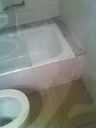 Hotel Frontera: bagno