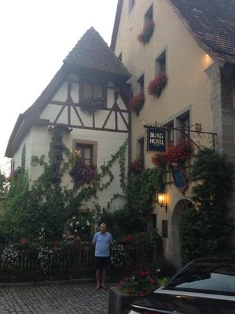 Burghotel Photo