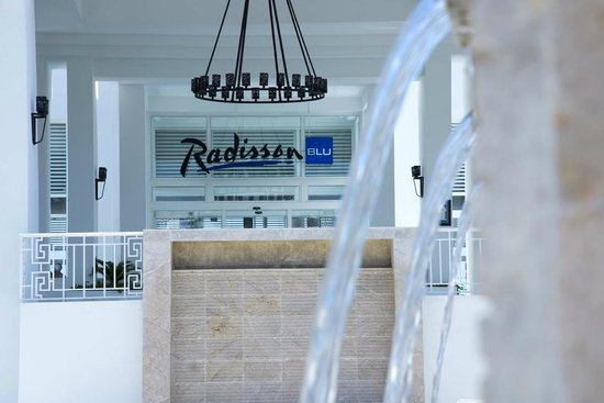 Radisson Blu Resort & Thalasso: Entrée