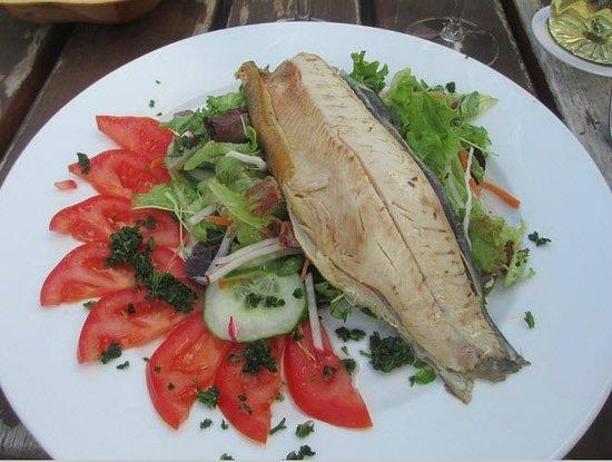 Zur Alten Brucke : Wonderful trout salad