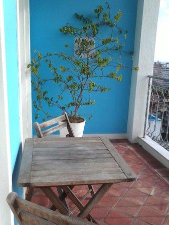 Pousada Casa Vila Bela: varanda