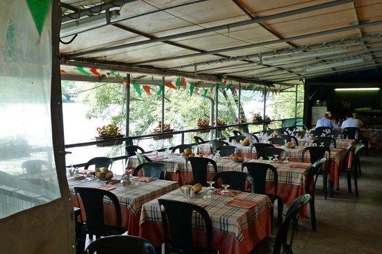 Terrazza sul lago, lato aperto - Picture of Ristorante dei ...