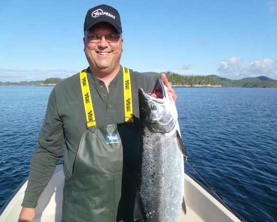 Joe's Salmon Lodge: Fish catching at the Gap