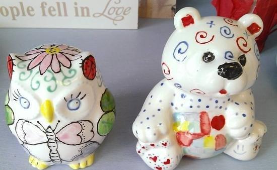 Pot-A-Doodle Doo: bear and owl