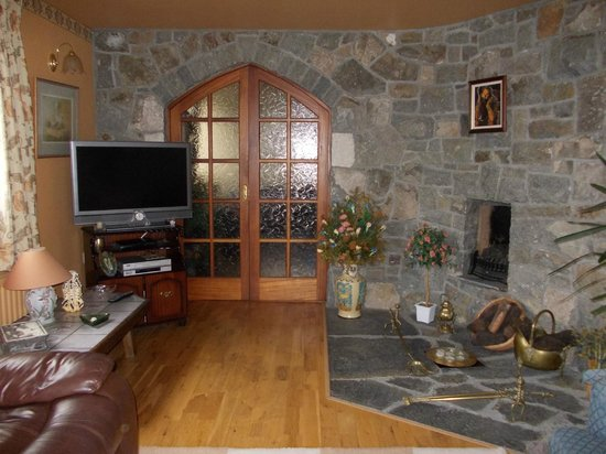 Tuar Beag: sala per gli ospiti