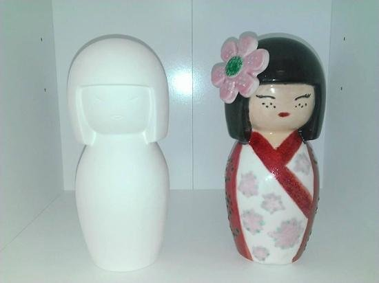 Pot-A-Doodle Doo: Russian doll - before and after