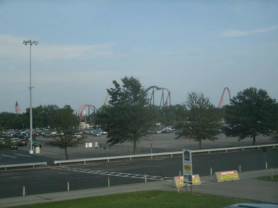 Centerstone Inn Doswell at Kings Dominion : You can see how close to K.D. you are.