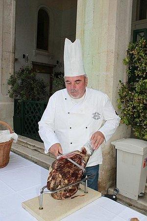 Restaurant Arkada : Dalmatian smoked ham