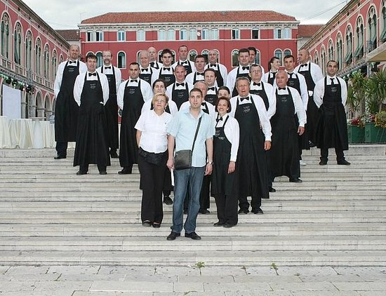 Restaurant Arkada : Arkada catering team