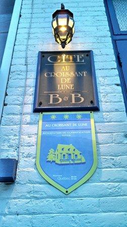 B&B Au Croissant de Lune: The entrance
