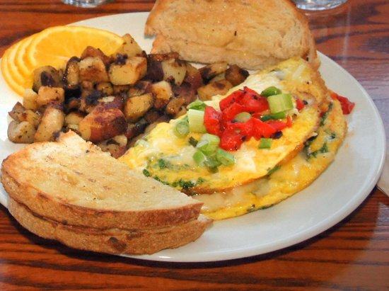 Omelet at Good Morning Cafe!