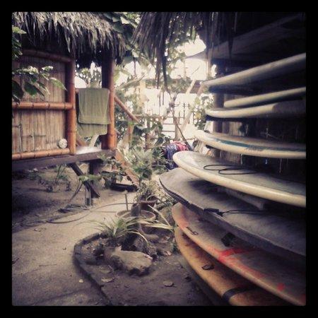 Viejamar Hostel: El jardín