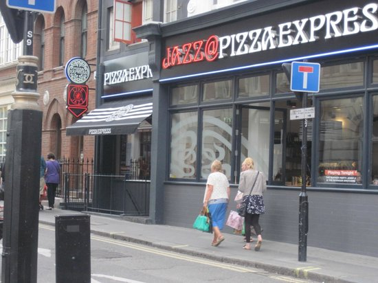 Pizza Express Jazz Club : From across the street