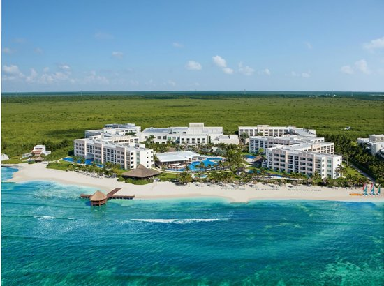 Secrets Silversands Riviera Cancun: Aerial View