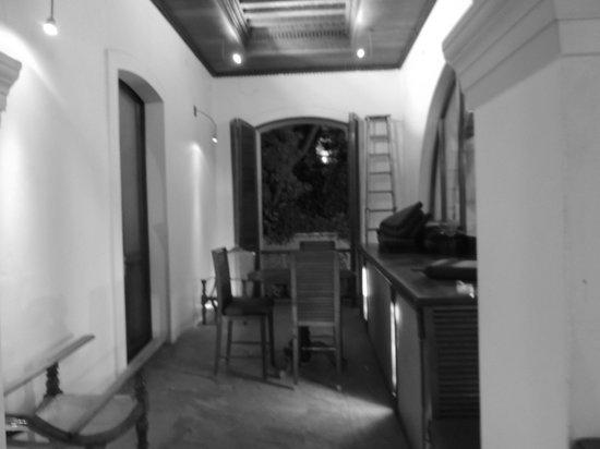 Le Dupleix: Corridor