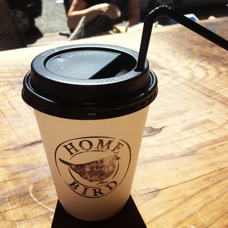Homebird Cafe : Mmm frozen latte