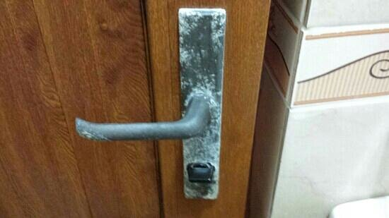 Hotel Can Bodrum: La clanche moisie
