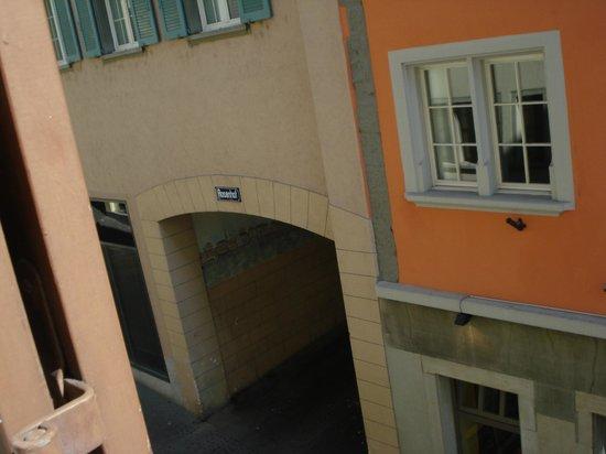 Hotel Splendid: двор напротив