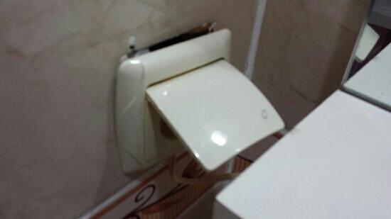 Hotel Can Bodrum: La prise électrique près du lavabo