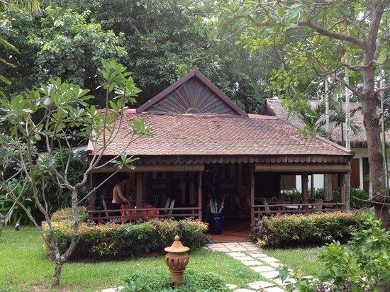 La Palmeraie d'Angkor: Lobby, palmeraie d'angkor