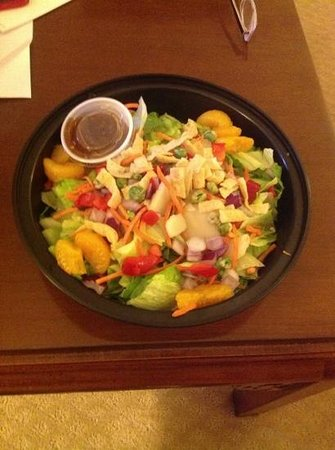 Cooper Hotel Conference Center & Spa: asian salad from Cedars Grill