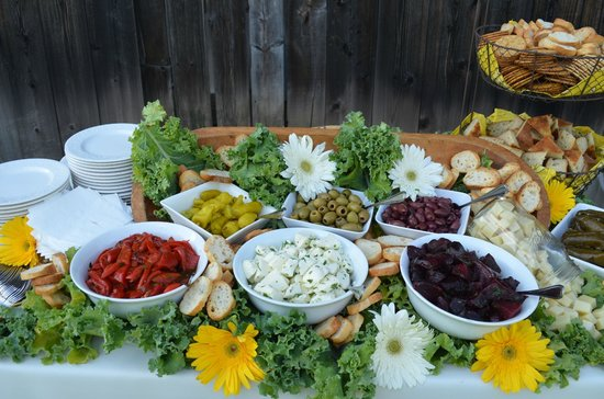 Chambers Walk Cafe & Catering: Appetizing displays to please any crowd