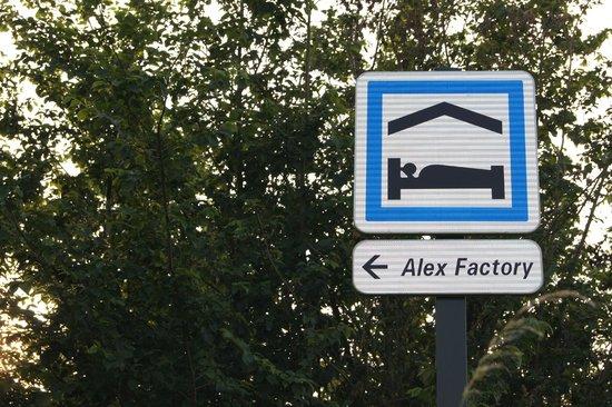 Alex Factory : Notre signalétique