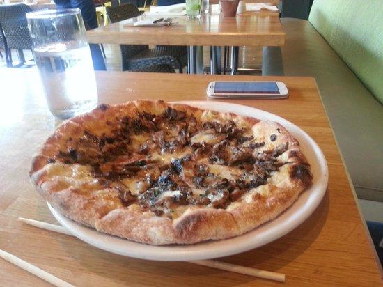 True Food Kitchen: Wild Mushroom Pizza