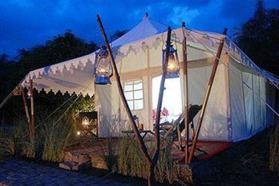 Abrar Palace Wildlife Resort: Beautiful tents