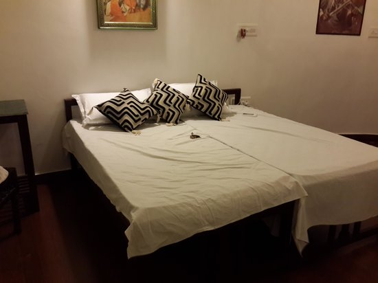Mandore Guest House - a leafy resort.: Bedroom