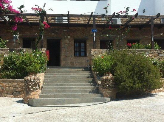 Karpathios Studios: Studios at top of drive