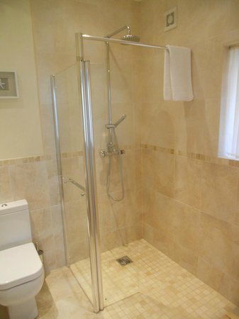 Bracken Lodge Bed & Breakfast: Rainfall shower in room 1, Bracken Lodge