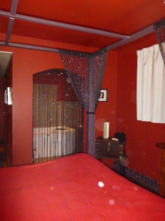 Hotel Bastide de Lourmarin : chambre la coquine
