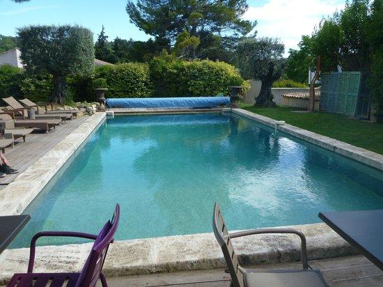 Hotel Bastide de Lourmarin : piscine