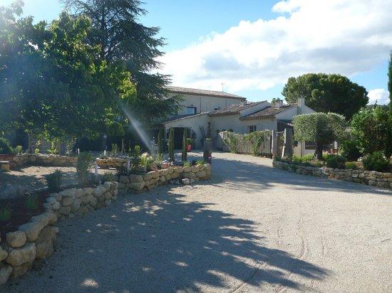 Hotel Bastide de Lourmarin : entrée
