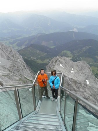 Skywalk Dachstein: Skywalk & Eis Palast & umgebung