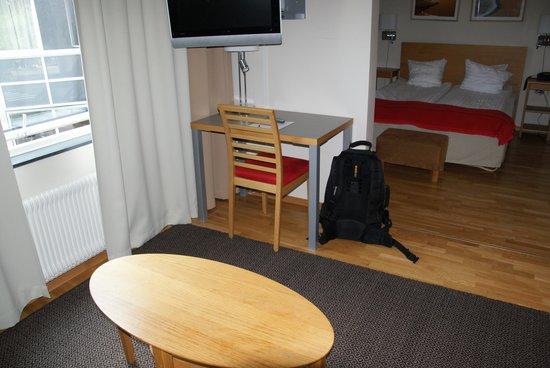Hotel Tornet: Room interior