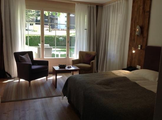 Hotel Mirabeau: ベットルーム