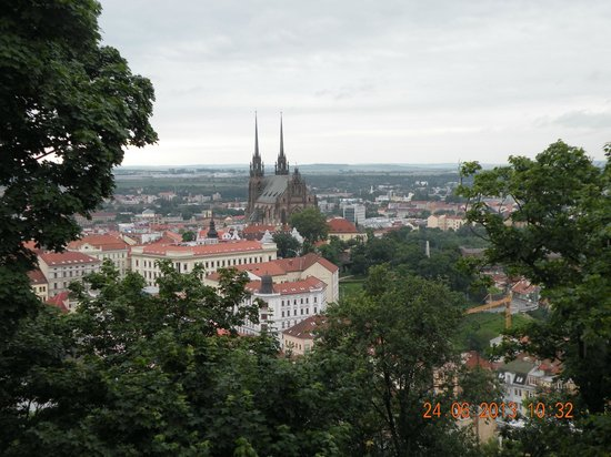 Spilberk Castle: Вид со смотровой площадки