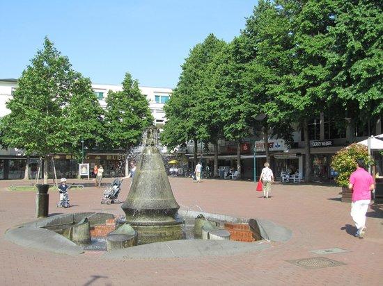 Insel Hotel Bad Godesberg: Praça em frente ao hotel