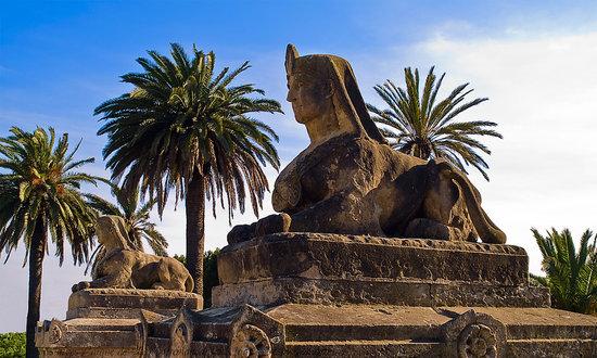 Parc de la Torreblanca: efigies