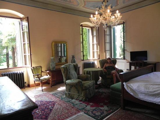 Relais Villa San Matteo: relax nella camera Aida